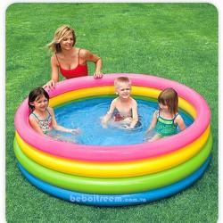 Bể Bơi Intex 4 Màu Cầu Vồng
