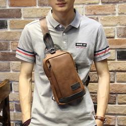 Túi đeo ngực nam da đẹp ZK325