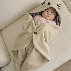 Chăn ủ cho bé hình Tai mèo