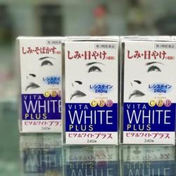 Viên uống trắng da, trị nám vita white plus- hộp 240 viên