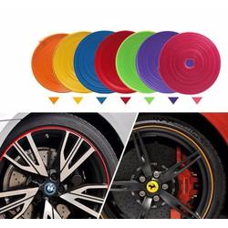 Chỉ viền trang trí la zăng ô tô nhiều màu sắc