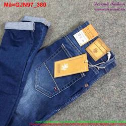 Quần jean nam dài rách phong cách bụi bặm QJN97