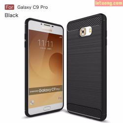 Ốp lưng Galaxy C9 Pro Viseaon Rugged Armo Carbon nhựa mềm