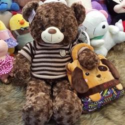 Gấu Bông Nâu Cao Cấp 1m7