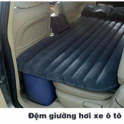 Đệm hơi ô tô chất liệu PVC mặt nhung cao cấp