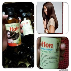 Bộ dầu gội và tinh dầu bưởi ngăn rụng tóc