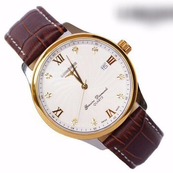 đồng hồ kim dây da thật kính tinh thể sapphire mã LG.103