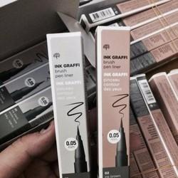 Dạ kẻ mắt Ink Graffi Brush Pen Liner Th e F a ce S ho p