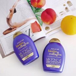 Bộ dầu gội, xả Biotin và Collagen chống rụng tóc ,kích thích mọc tóc