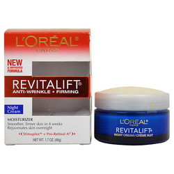 Kem dưỡng da chống lão hóa ban đêm Loreal RevitaLift