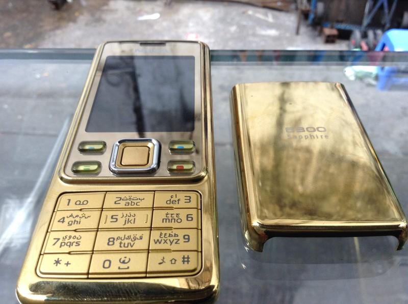 ĐIỆN THOẠI  NOKIA 6300 GOLD 2
