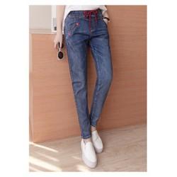 Quần Jeans lưng chun cao cấp nhập khẩu - Q11467094