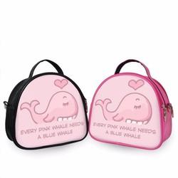Balo Teen nữ Cá voi hồng - VBTCP184