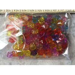 Hạt vuông nhiều màu 150 hạt
