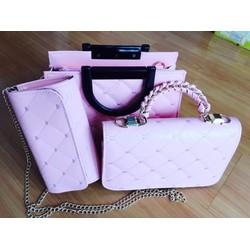 Bộ 3 túi xách Sharafashion TGS01859 về màu mới nhé