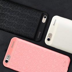 Ốp lưng iPhone 6-6s hiệu Baseus kết hợp Sạc dự phòng 2500 mAh mẫu Caro