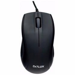 Chuột quang có dây Delux M375 Đen