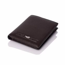 Bóp ví da nam VN023 đứng màu đen