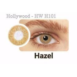 Kính Áp Tròng Hollywood - Nâu vàng nhạt