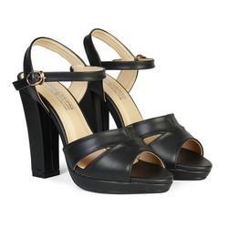 Giày Sandal Nữ Cao Gót 11 cm Đế Đúp HC1342
