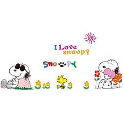 Decal Chó Snoopy TH827
