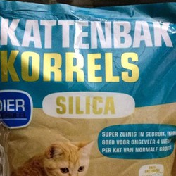 Cát vệ sinh cho mèo silica thủy tinh