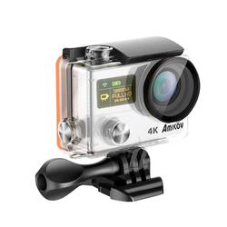Camera Hành Trình Thể Thao Đi Phượt Amkov 8000S Quay 4K