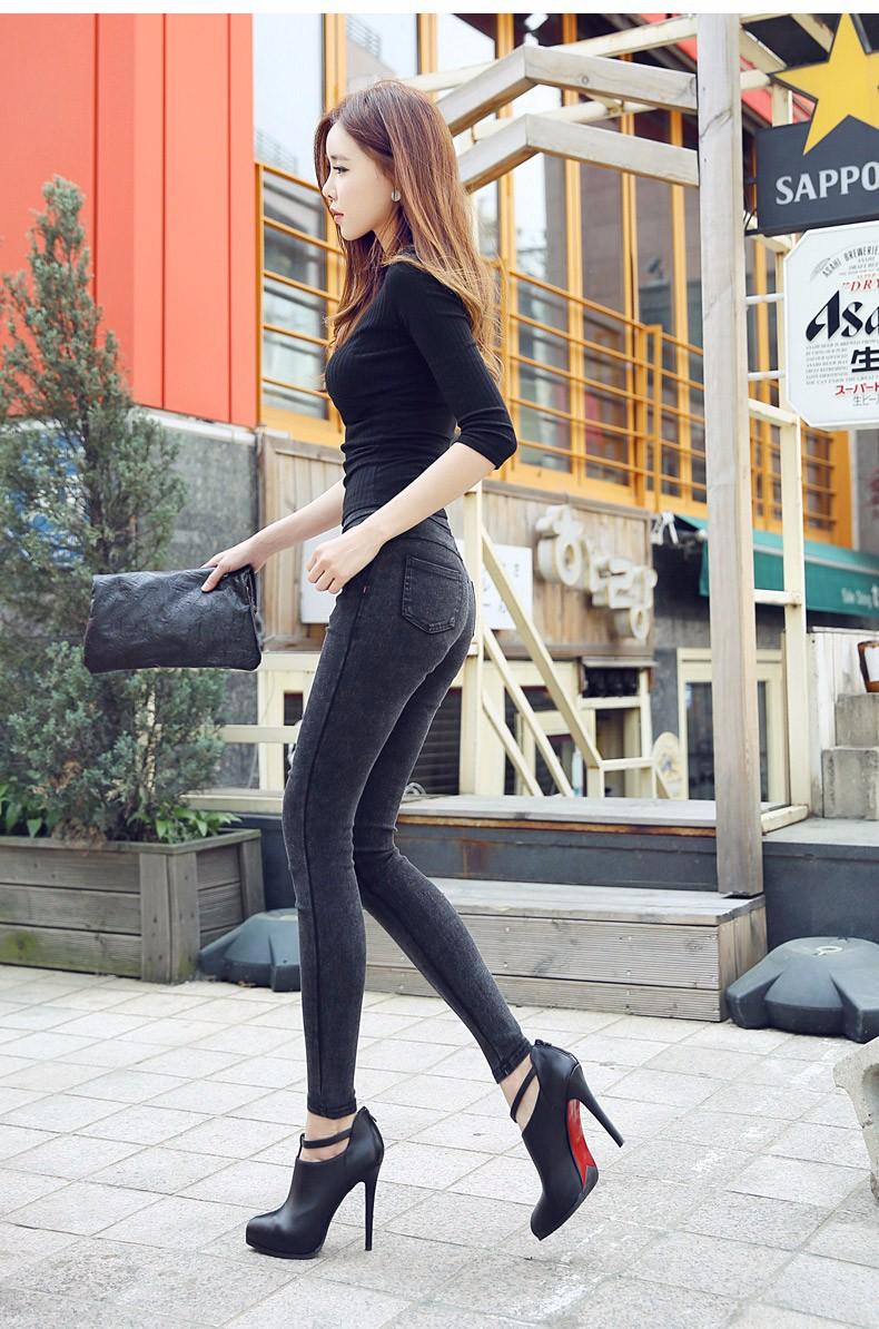 Quần legging cạp cao thời trang 7