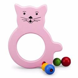 Đồ chơi bằng gỗ - Lục lạc mèo