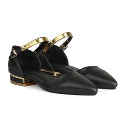 Giày Bệt Nữ Mũi Nhọn Quai Cổ Chân HC1317