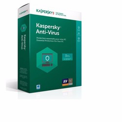 Kaspersky Anti Virus 3PC 2017