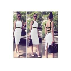 Đầm trắng Ngọc Trinh hở lưng sexy 879