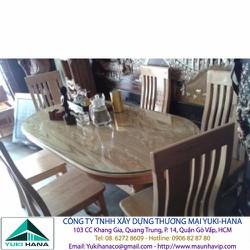 Bộ bàn 6 ghế Gỗ Sồi