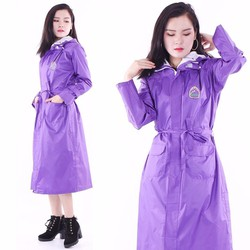 Áo mưa măng tô nữ siêu nhẹ