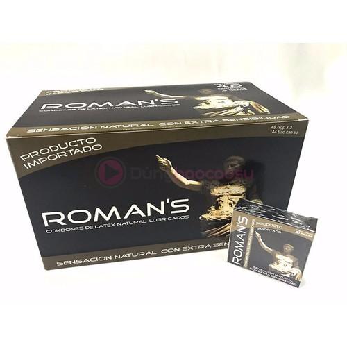 ROMAN'S cao cấp dành cho gia đình hộp 144 chiếc