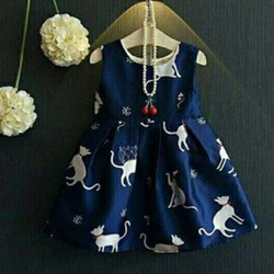 Đầm mèo cho bé yêu