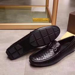 Giày lười nam chất liệu da mềm phong cách công sở NEW
