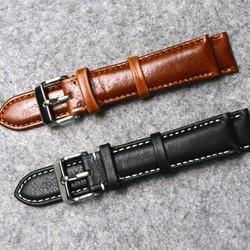 Dây đồng hồ da thật cao cấp size 18mm 20mm 22mm 24mm - Mã số:D1613
