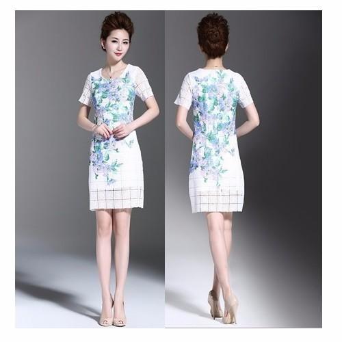 Đầm ôm ren hoa DO7 – size S~2XL – hàng nhập