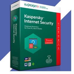 Kaspersky Internet Security 5PC 2017