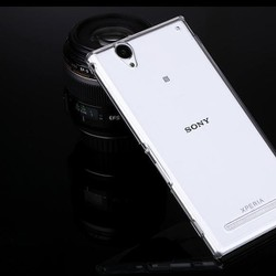 Ốp lưng Xperia T2 Ultra XM50 Plastic silicon trong suốt