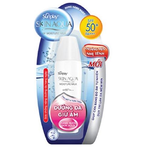 Sữa Chống Nắng Rohto Sunplay Skin Aqua Moisture SPF50 - 30g - 4217480 , 5342629 , 15_5342629 , 80000 , Sua-Chong-Nang-Rohto-Sunplay-Skin-Aqua-Moisture-SPF50-30g-15_5342629 , sendo.vn , Sữa Chống Nắng Rohto Sunplay Skin Aqua Moisture SPF50 - 30g