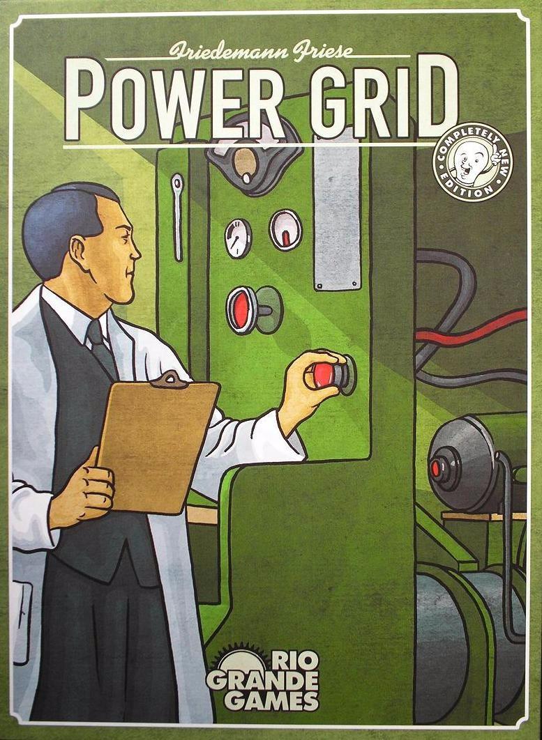 POWER GRID - KẺ KHAI SÁNG THẾ GIỚI 1