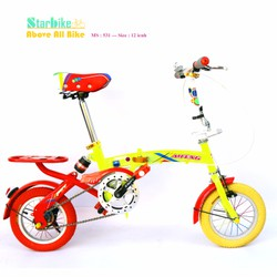 Xe đạp trẻ em - Phong cách tăng động