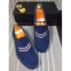 Giày lười nam thiết kế đơn giản,đi lại tiện dụng mới