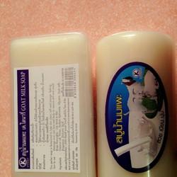 Xà phòng rửa mặt sữa dê Thái Lan