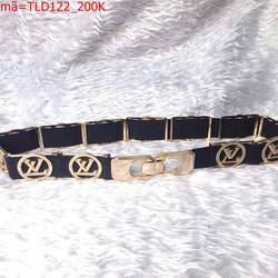 Thắt lưng nữ logo Chanel sang trọng và thời trang TLD123