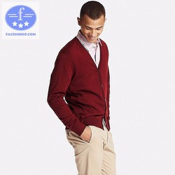 [Chuyên sỉ - lẻ] Áo khoác cardigan nam Facioshop KD125