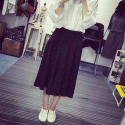 quần váy đen