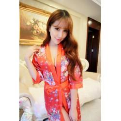 Đầm Ngủ Kimono Phong Cách Nhật Bản TT38